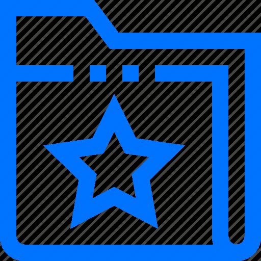bookmark, documents, favorite, file, folder, like, star icon