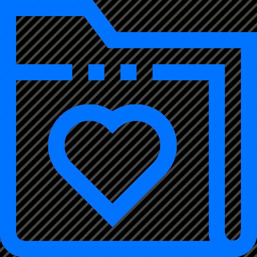 bookmark, documents, favorite, folder, like, love icon