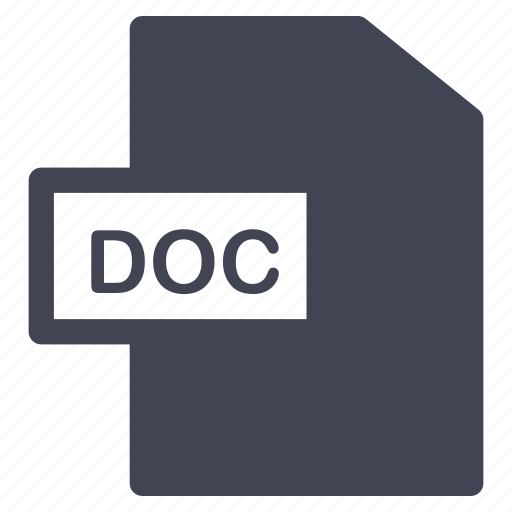 doc, document, documents, extension, file, format icon