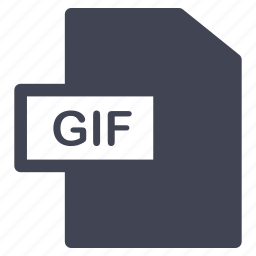 document, documents, extension, file, format, gif icon