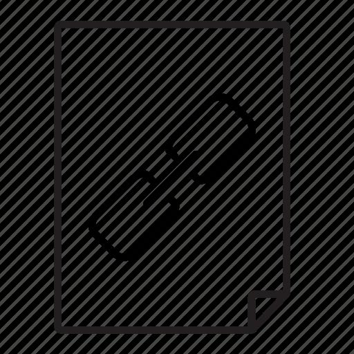 document, link icon
