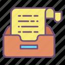 document, storage, files