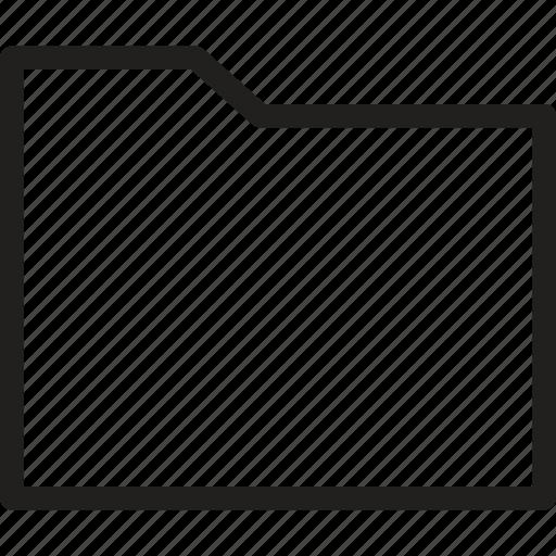 blank, data, document, extension, file, folder, storage icon