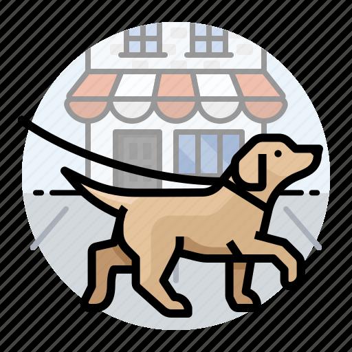 Dogs, pet, dog, dog walk, dog walking, puppy icon - Download on Iconfinder
