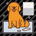 dog, puppy, pet, pee, sheets, pads, training