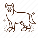 dog, animal, foot, protection, boots, socks, shoes icon