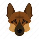 animal, breed, dog, domestic, muzzle, pet, sheepdog icon
