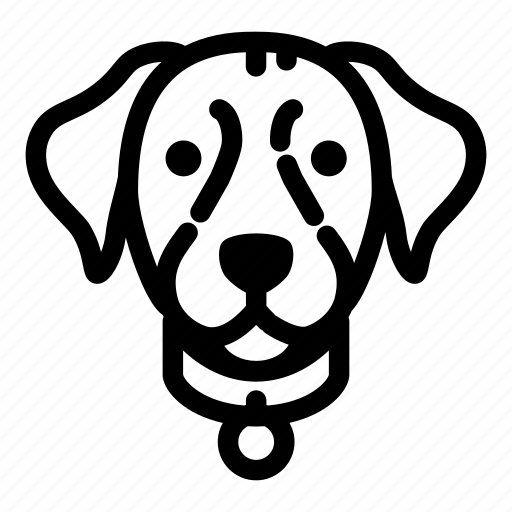 animal, canine, dog, face, labrador, pet, puppy icon