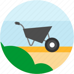 building, bush, construction, equipment, good, handwork, tools icon