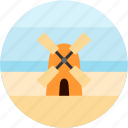 countryside, energy, farm, good, windmill icon