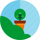 bush, good, plant, planting, tree icon