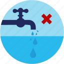 deed, drops, good, reduce, tab, usage, water icon