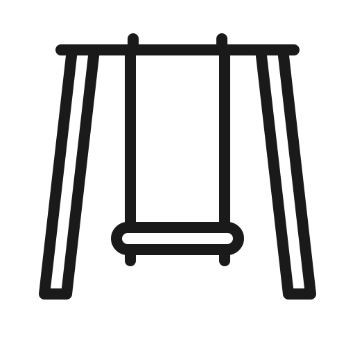 house, swing icon