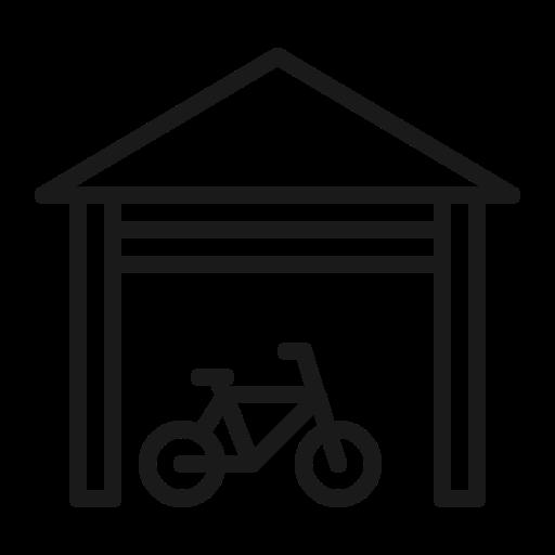 bike, garage icon