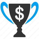 award, first place, gold cup, success, trophy, win, winner icon