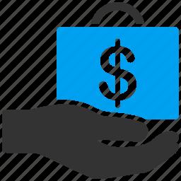 business, buy, cash, purse, sale, trade, wallet icon