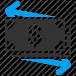 bank, business, cash, hand, money, shopping, web icon