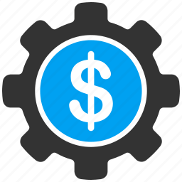 business, dollar, gear, industrial, industry, options, setup icon