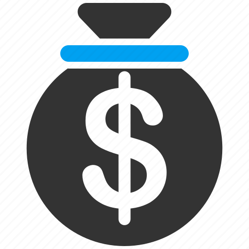 bank, capital, cash, earnings, invest, investment, money bag icon