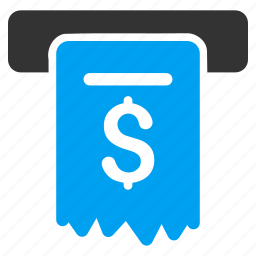 cheque, financial, invoice, money, payment, receipt, shopping icon