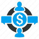 business, communication, finance, financial, internet, social network, web icon