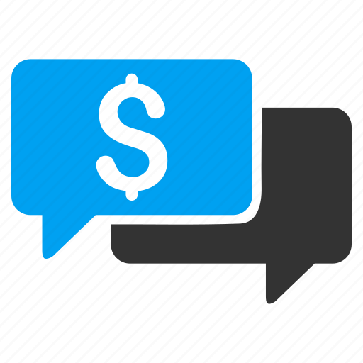 bids, chat, communication, finance, messages, money transaction, price icon