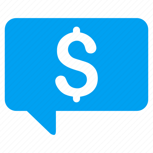 chat, communication, finance, financial, payment, price message, sms icon