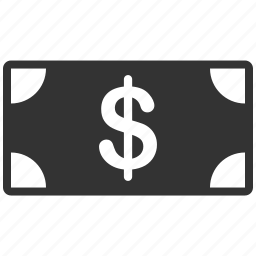 bank, banknote, cash, currency, dollar, finance, money icon