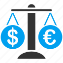 change, compare, currency, dollar, finance, forex, money icon