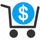 buy, check out, checkout, invoice, order, payment, shopping basket icon