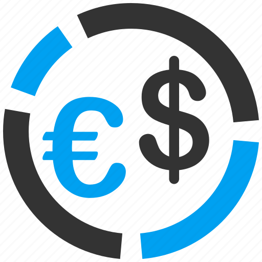 chart, currency, diagram, euro, graph, money, report icon