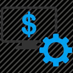 desktop, monitor, options, preferences, screen, settings, tools icon