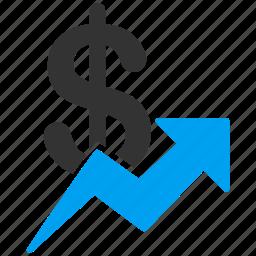 analytics, chart, diagram, finance, report, statistics, trend icon