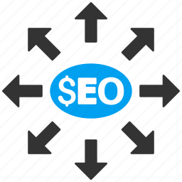 advertisement, communication, distribution, marketing, media, search engine, seo icon