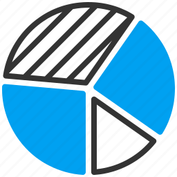 bsuiness report, data visualization, graph, market analytics, pie chart, sales, statistics icon