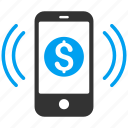 call, finance, financial, mobile, payment, phone, ring icon