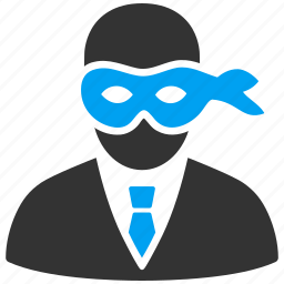 burglar, crime, criminal, gangster, mask, masked thief, robber icon