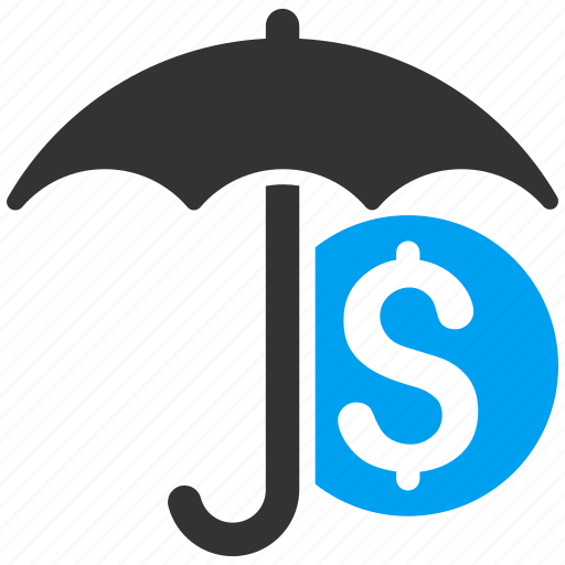care, finance, financial insurance, money, protection, safety, umbrella icon