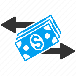 banknotes, business, dollar, finance, money exchange, payment, payments icon