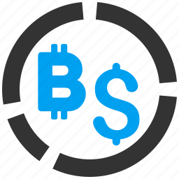 bitcoin, business, currency, diagram, financial, graph, money icon