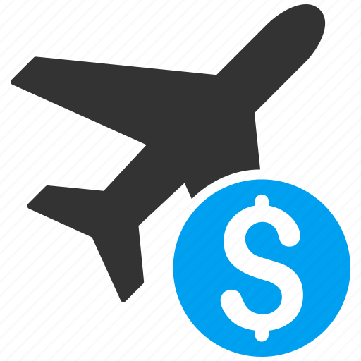 aircraft, airplane, fly ticket, plane, price, transportation, travel icon