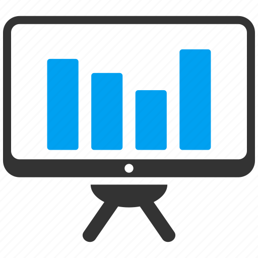analytics, bar chart, graph, monitor, monitoring, report, statistics icon