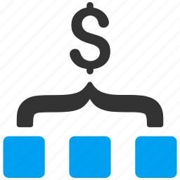 business, collect, conversion, finance, financial effect, money, sales funnel icon