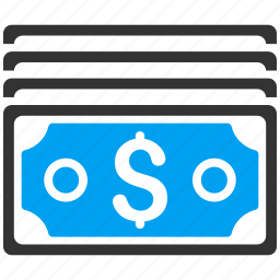 cash, currency, dollar banknotes, finance, financial, money, payment icon