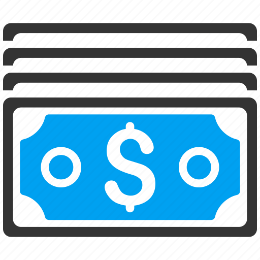 Cash, currency, dollar banknotes, finance, financial, money, payment icon - Download on Iconfinder