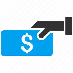 buy, cash, finance, hand, pay, payment, purchase icon
