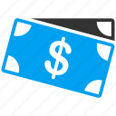 banking, banknotes, business, cash, currency, dollar, money icon