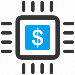 chip, electronic, electronics, hardware, microchip, payment, processor icon