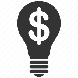 bulb, copyright, idea, law, legal, license, patent icon