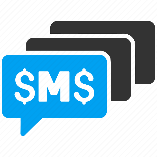 advertisement, communication, messages, post, send, sms, spam icon